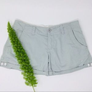 Nike Gray Comfy Cuffed Active Short Size (6)